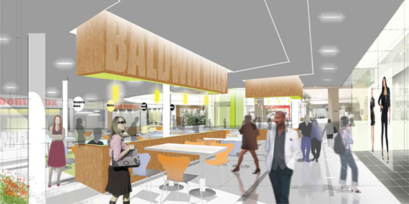 Crenshaw Mall Food Court