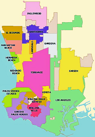 And Now Introducing, South Bay, Los Angeles County! | SouthLA