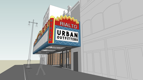 DTLA Urban Outfitter