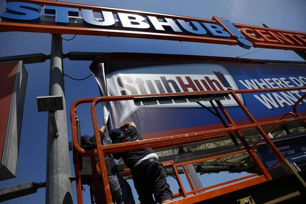 StubHub aims to expand with naming deal