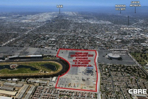 Inglewood s walmart land sold to nfl team owner possibly for Lax long term parking lot