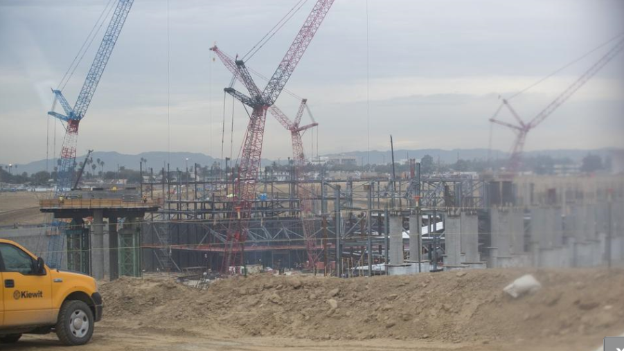 La Rams And Chargers Stadium Taking Shape Southla